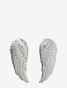 Angel Earrings Small Steel - studs - steel