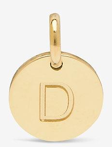 Charmentity A-Ö Gold - pendants - gold