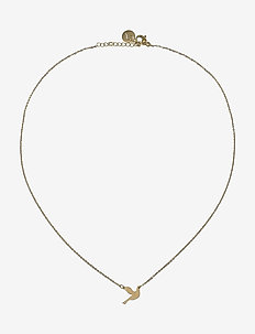 Dove Necklace - dainty necklaces - gold