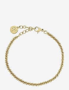 Tinsel Bracelet - dainty - gold