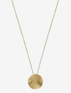 Elsa Necklace Short Matt - kettingen met hanger - gold