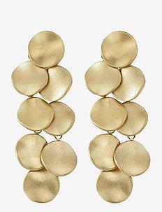 Elsa Earrings Multi Matt - Ørestikker - gold