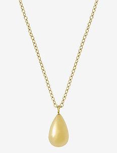 Drop Mini Necklace - kettingen met hanger - gold