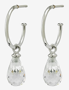 Drop Mini Earrings cz - creoler - steel
