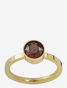 Diana Ring Plum - ringen - gold