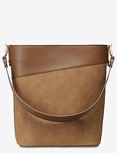 Drew Bucket Bag Cognac - bucket-väskor - cognac