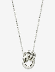 Elsie Necklace Steel - sirot kaulakorut - silver