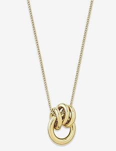 Elsie Necklace Gold - sirot kaulakorut - gold