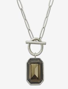Grand Necklace Wintergreen Steel - små halskjeder - silver