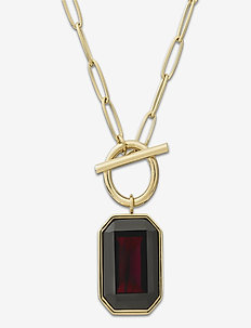 Grand Necklace Plum Gold - små halskjeder - gold