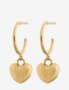 Barley Earring - oorhangers - gold