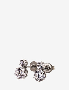 Crown Studs Double Steel - STEEL