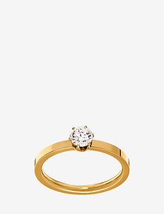 Crown Ring Gold - ringer - gold