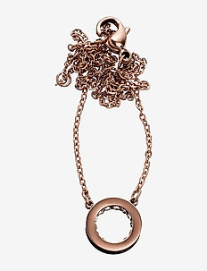 Monaco Necklace Mini Short - ROSE GOLD
