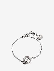 Eternity orbit bracelet thin - STEEL