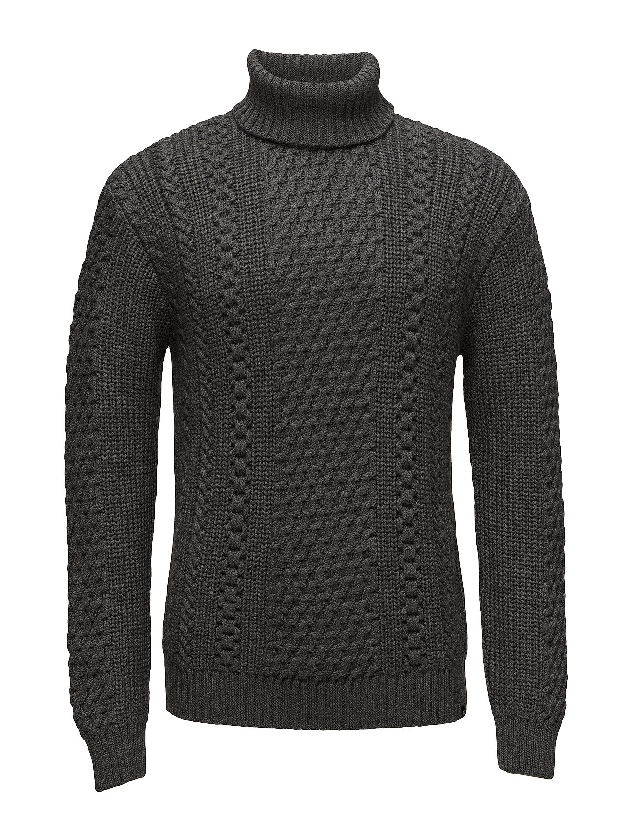 Edwin United Rollneck Sweater Ögrönlar