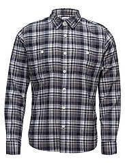 Labour Shirt - NAVY/GREY
