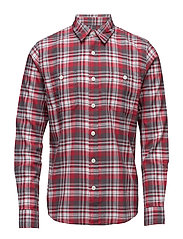 Labour Shirt - RED/GREY