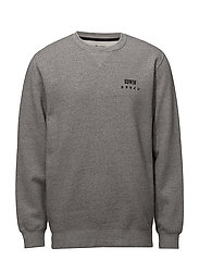 Base Crew Sweat - MOULINé GREY