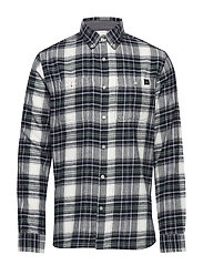 Tripple 10 Check Shirt - SYCAMORE
