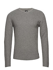 Terry Knit - LIGHT GREY
