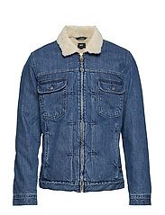 Panhead Zip Jacket - BLUE