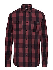 Labour Shirt - OXBLOOD RED
