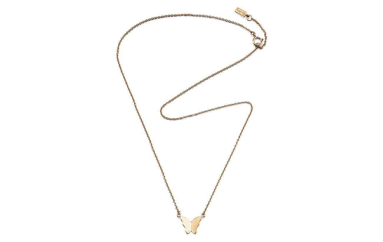 Efva Attling Little Miss Butterfly Necklace - GOLD
