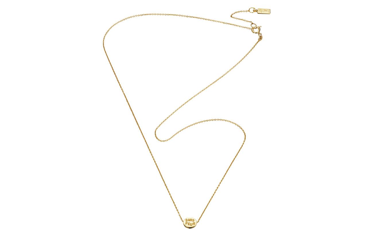 Efva Attling Mini Me Sans Peur Necklace - GOLD