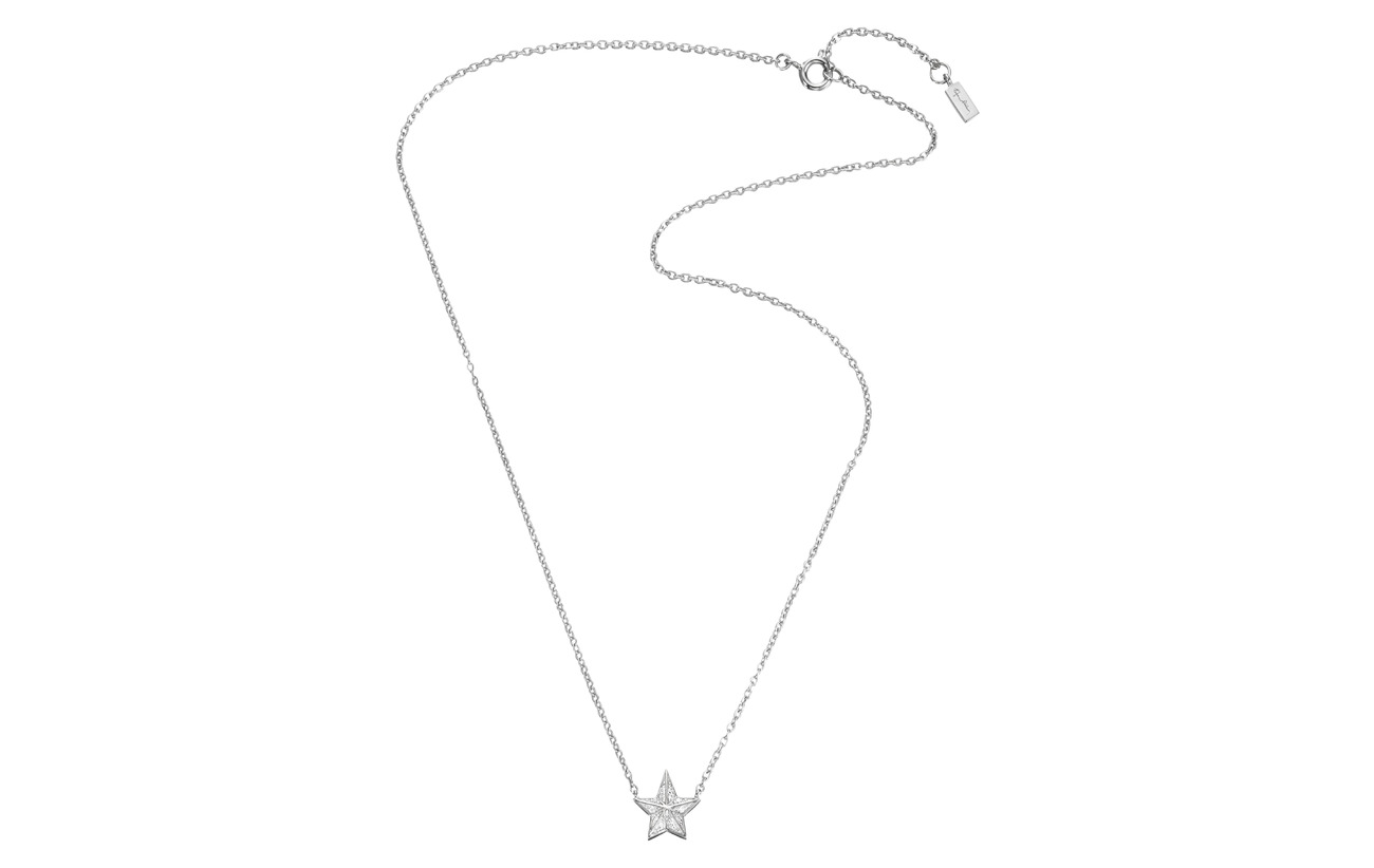 Efva Attling Catch A Falling Star & Stars Necklace - GOLD