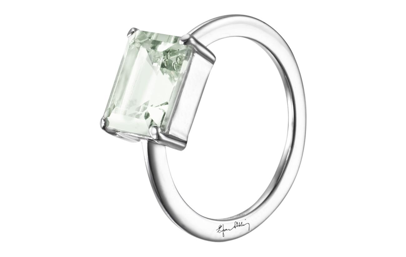Efva Attling A Green Dream Ring - SILVER