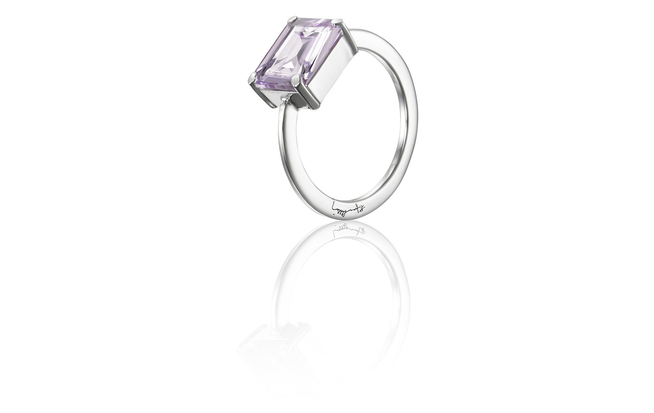Efva Attling A Purple Dream Ring - SILVER