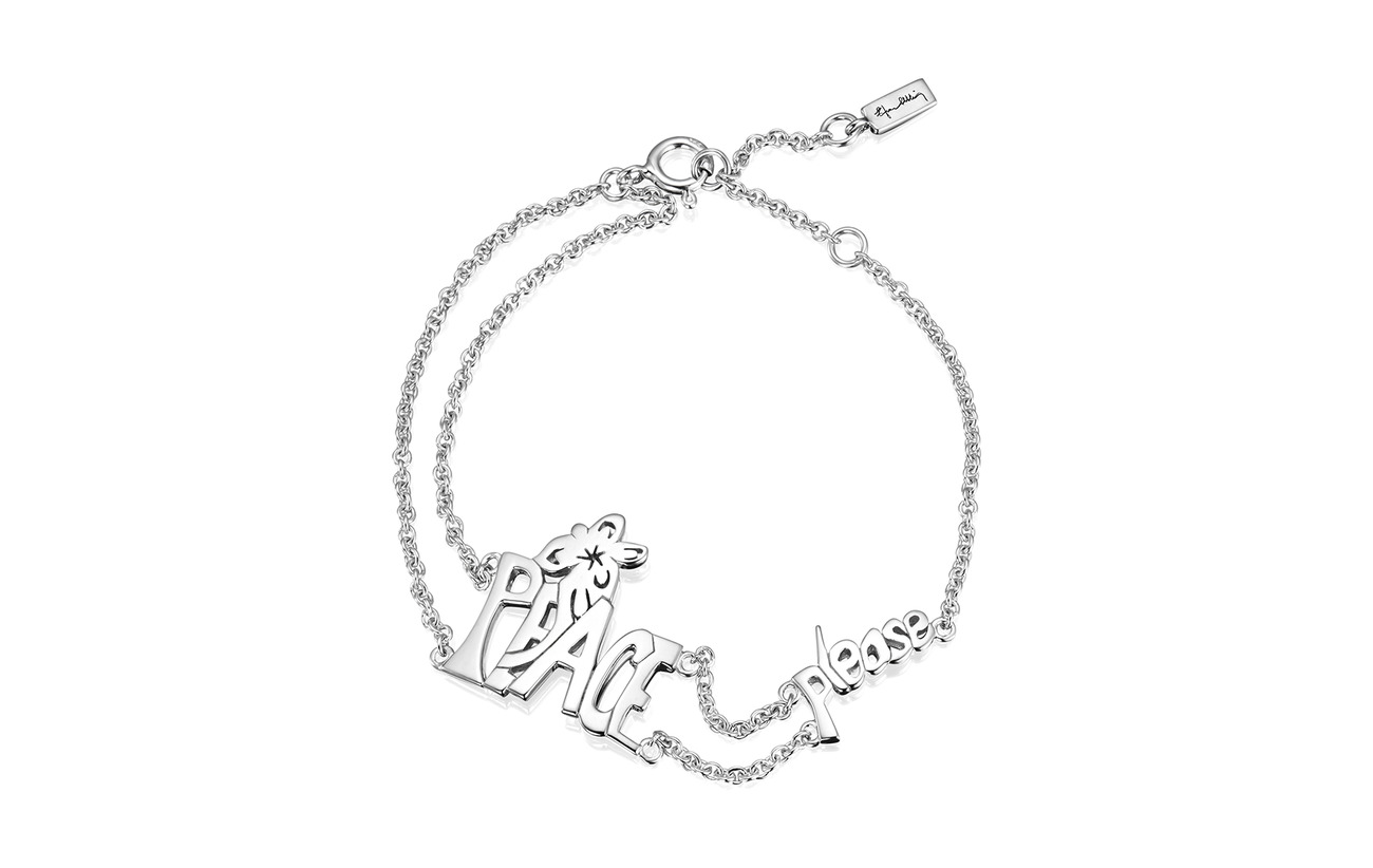 Efva Attling Peace Please Bracelet - SILVER
