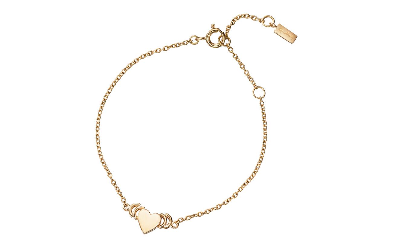 Efva Attling With Love Bracelet - GOLD
