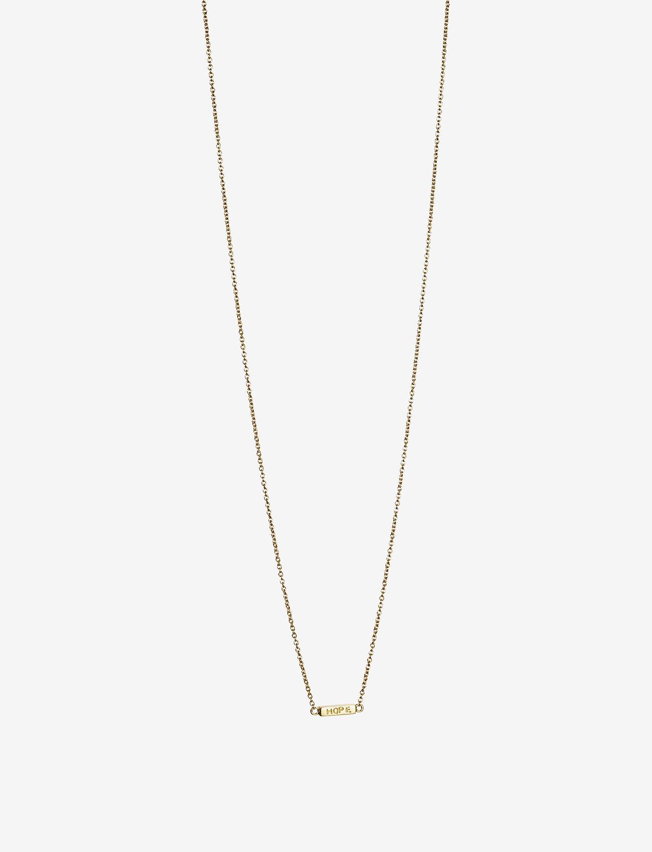 Efva Attling Mini Me Hope Necklace - Smycken Gold