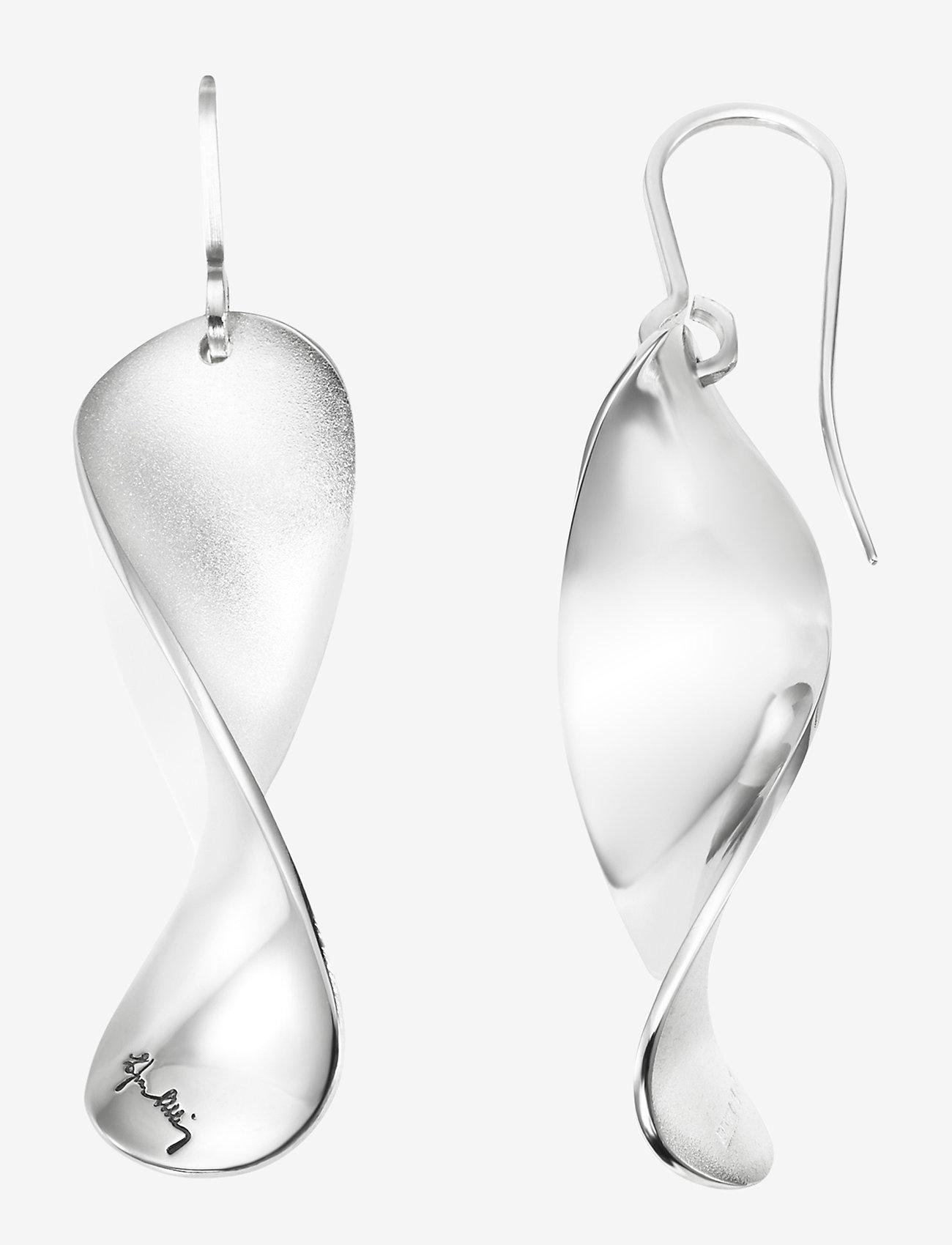 Efva Attling - Blades Earrings - hängande örhängen - silver - 1
