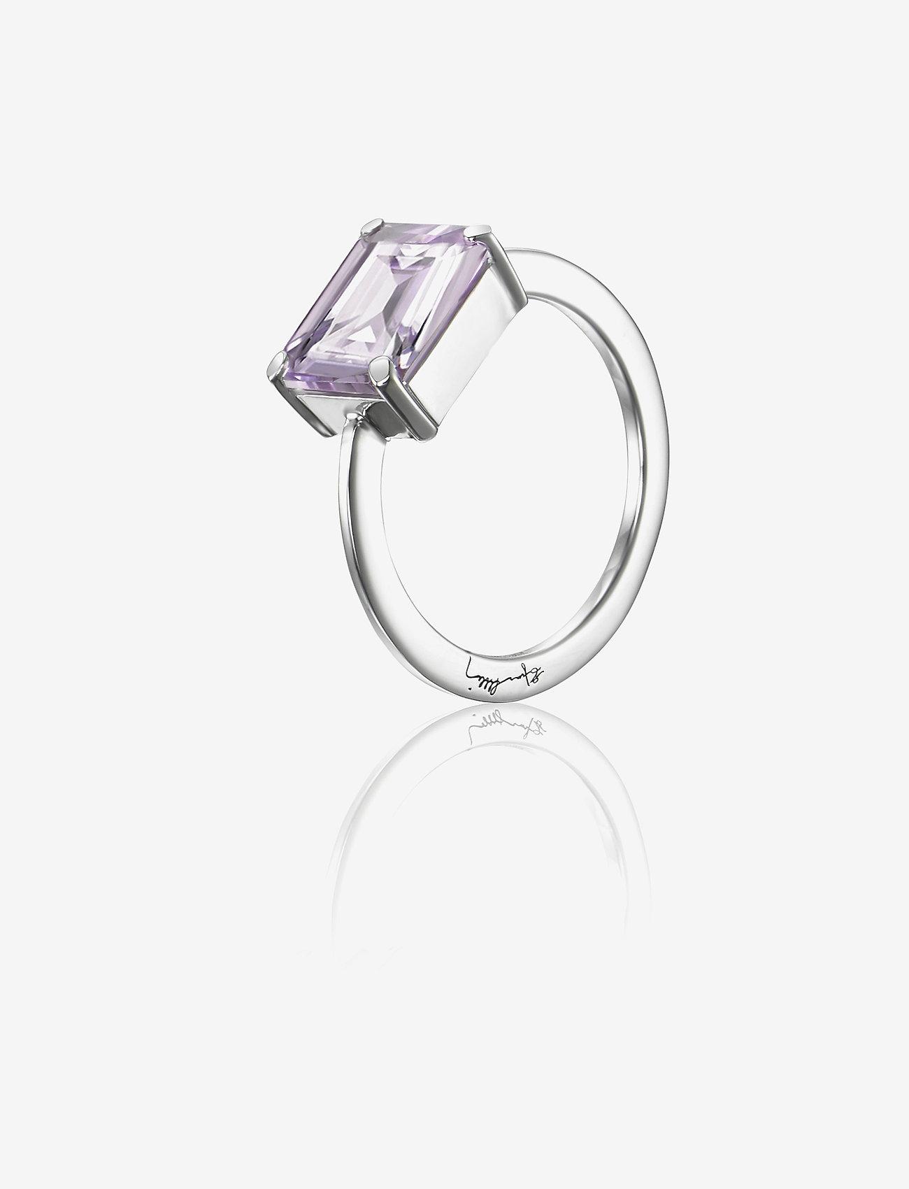 Efva Attling - A Purple Dream Ring - ringen - silver - 0