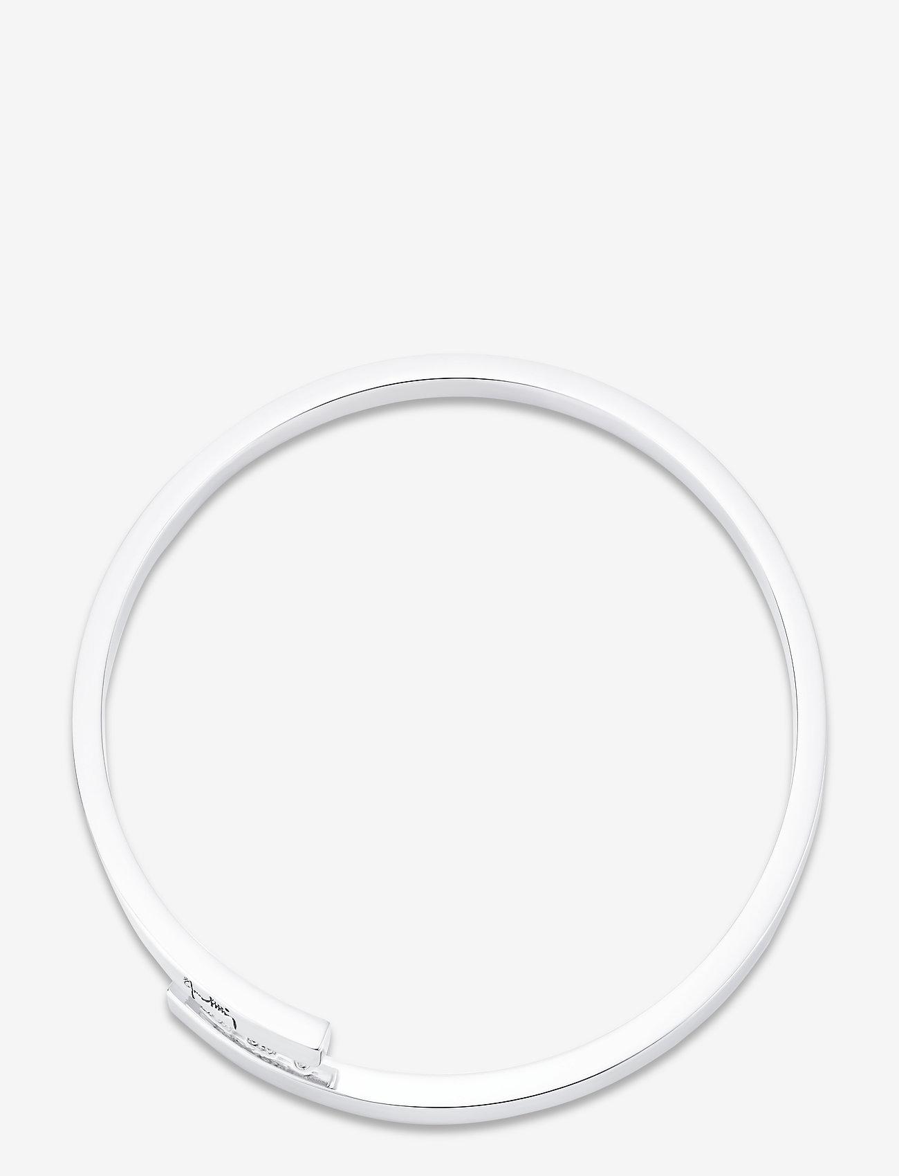 Efva Attling - Twist around cuff - bangles - silver - 1