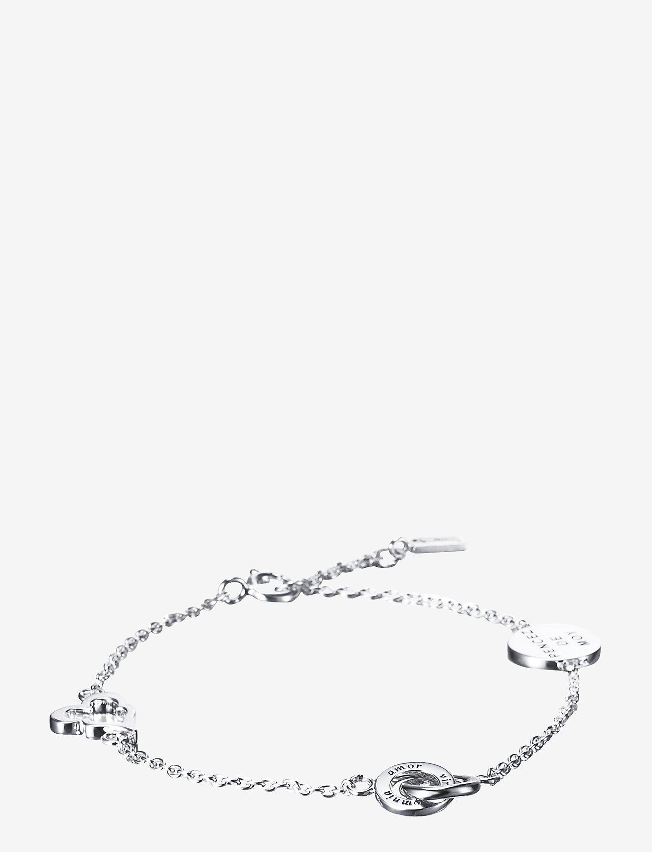Efva Attling - Mini love bracelet - dainty - silver - 0