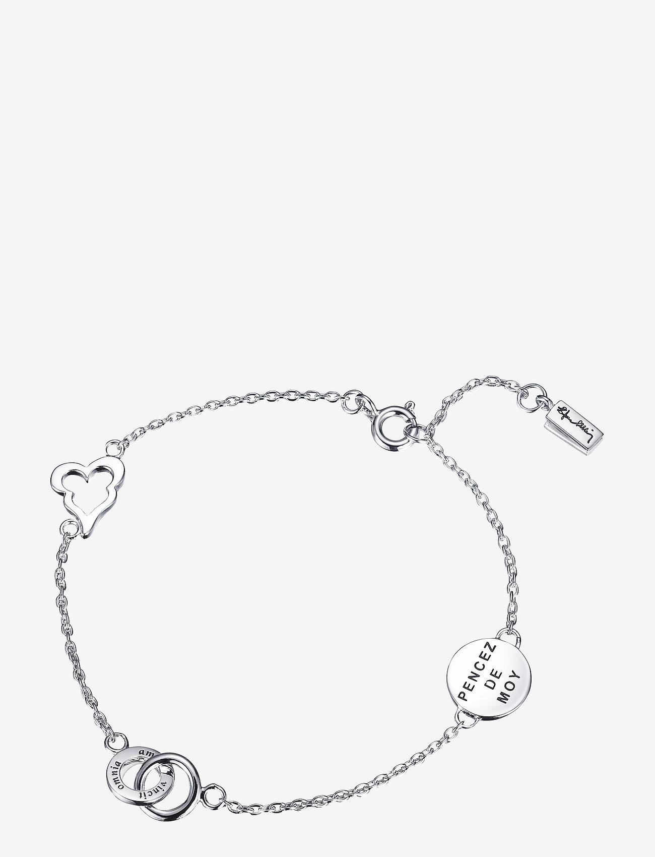 Efva Attling - Mini love bracelet - dainty - silver - 1
