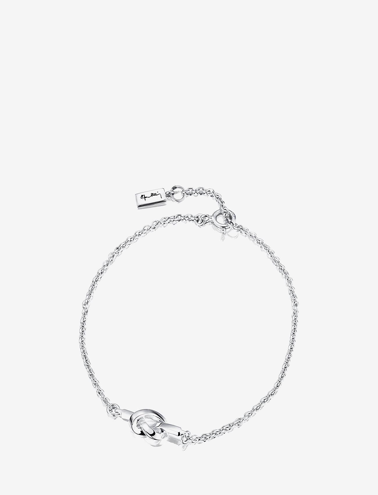 Efva Attling - Love Knot Bracelet - dainty - silver - 0