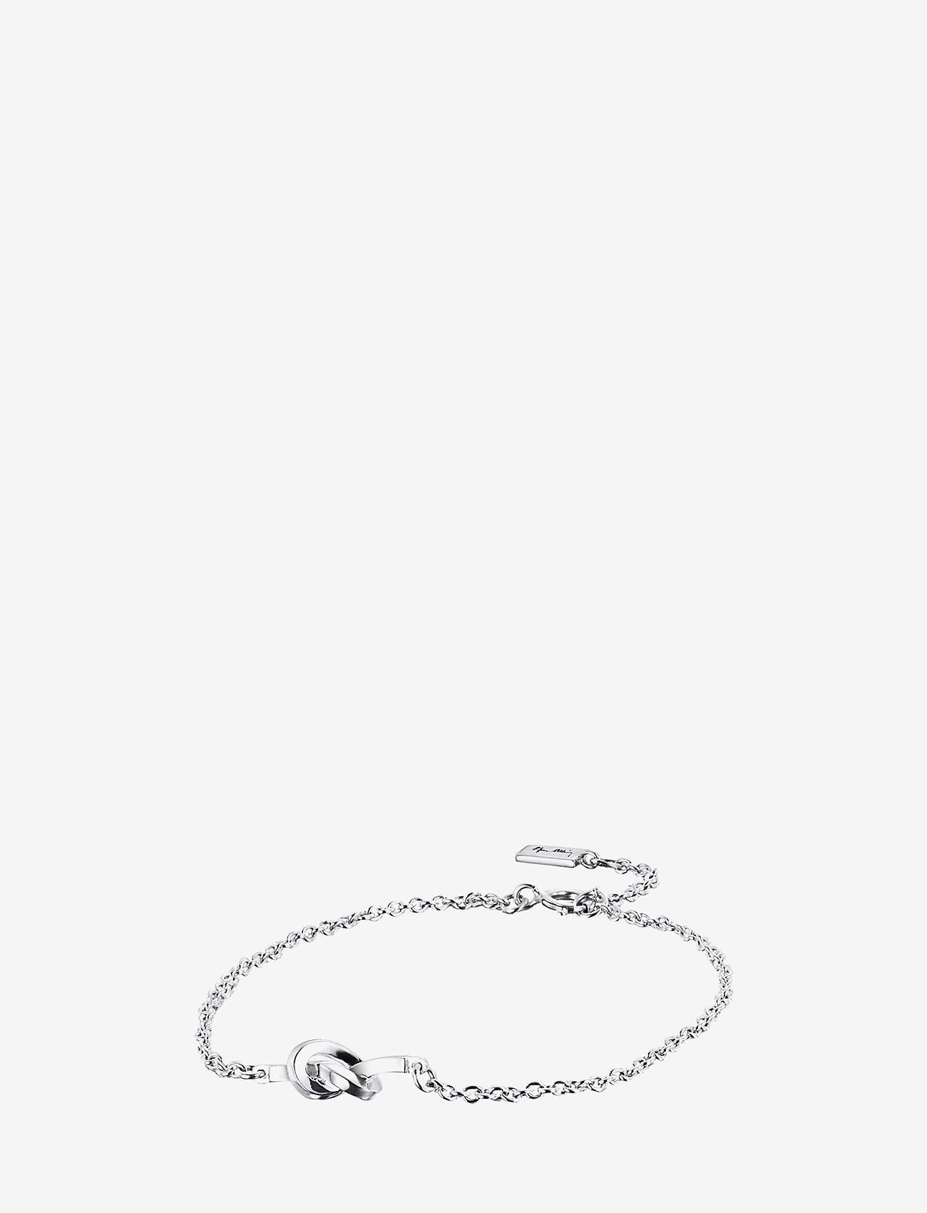 Efva Attling - Love Knot Bracelet - dainty - silver - 1