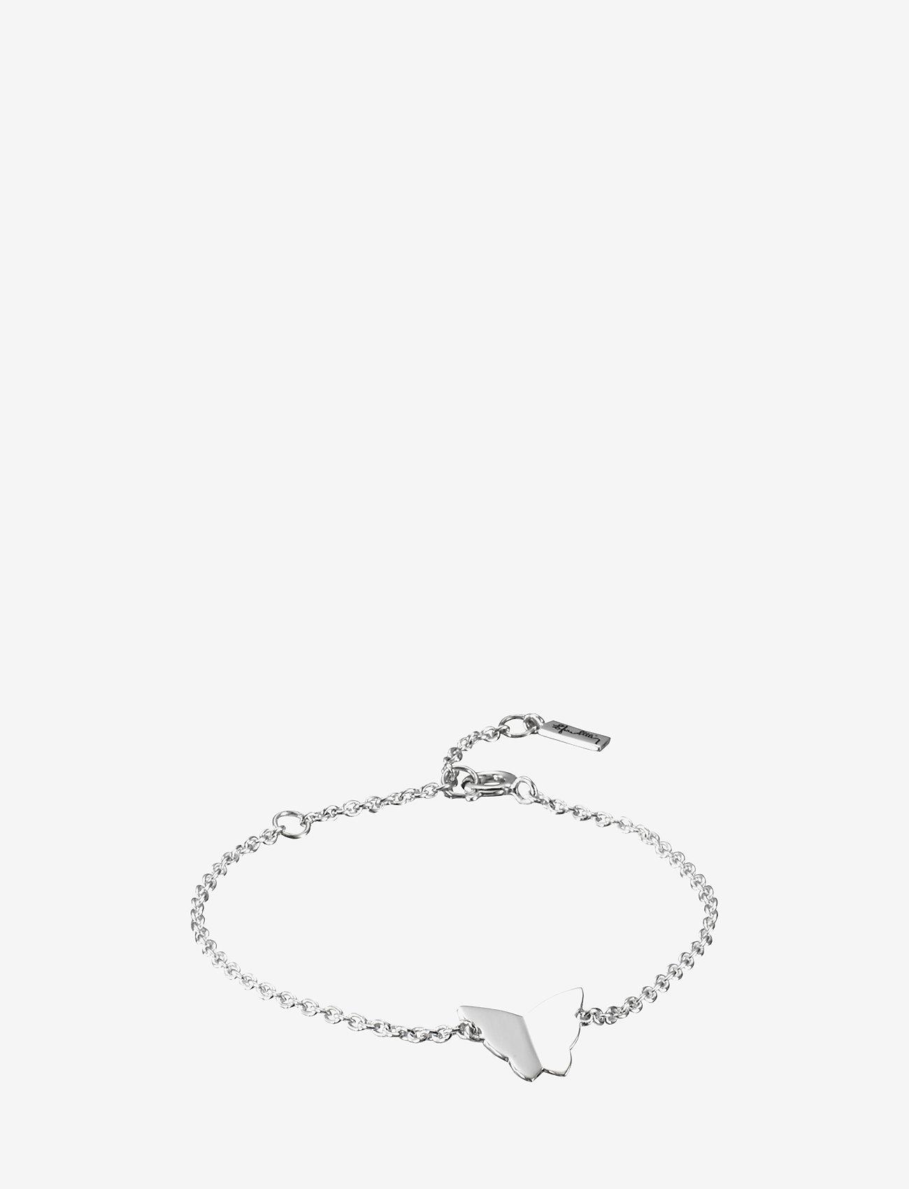 Efva Attling - Little Miss Butterfly Bracelet - dainty - silver - 0
