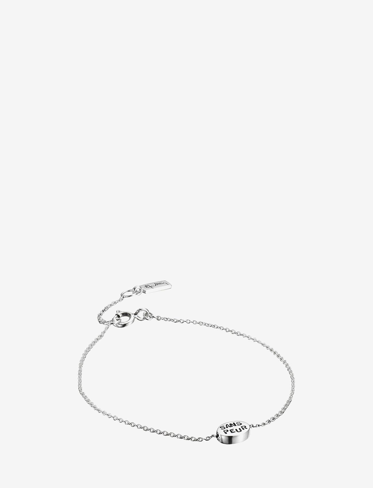 Efva Attling - Mini Me Sans Peur Bracelet - dainty - silver - 0