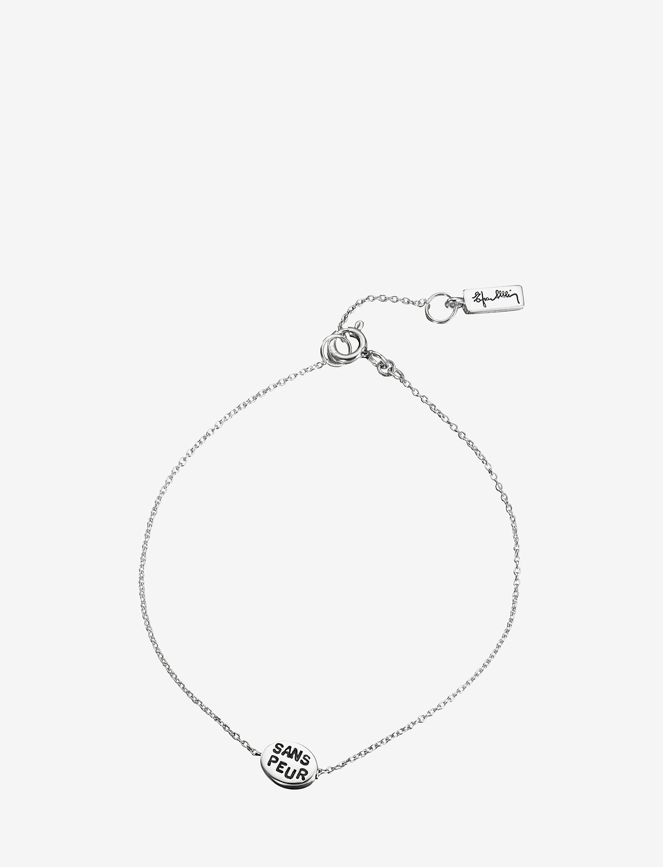 Efva Attling - Mini Me Sans Peur Bracelet - dainty - silver - 1