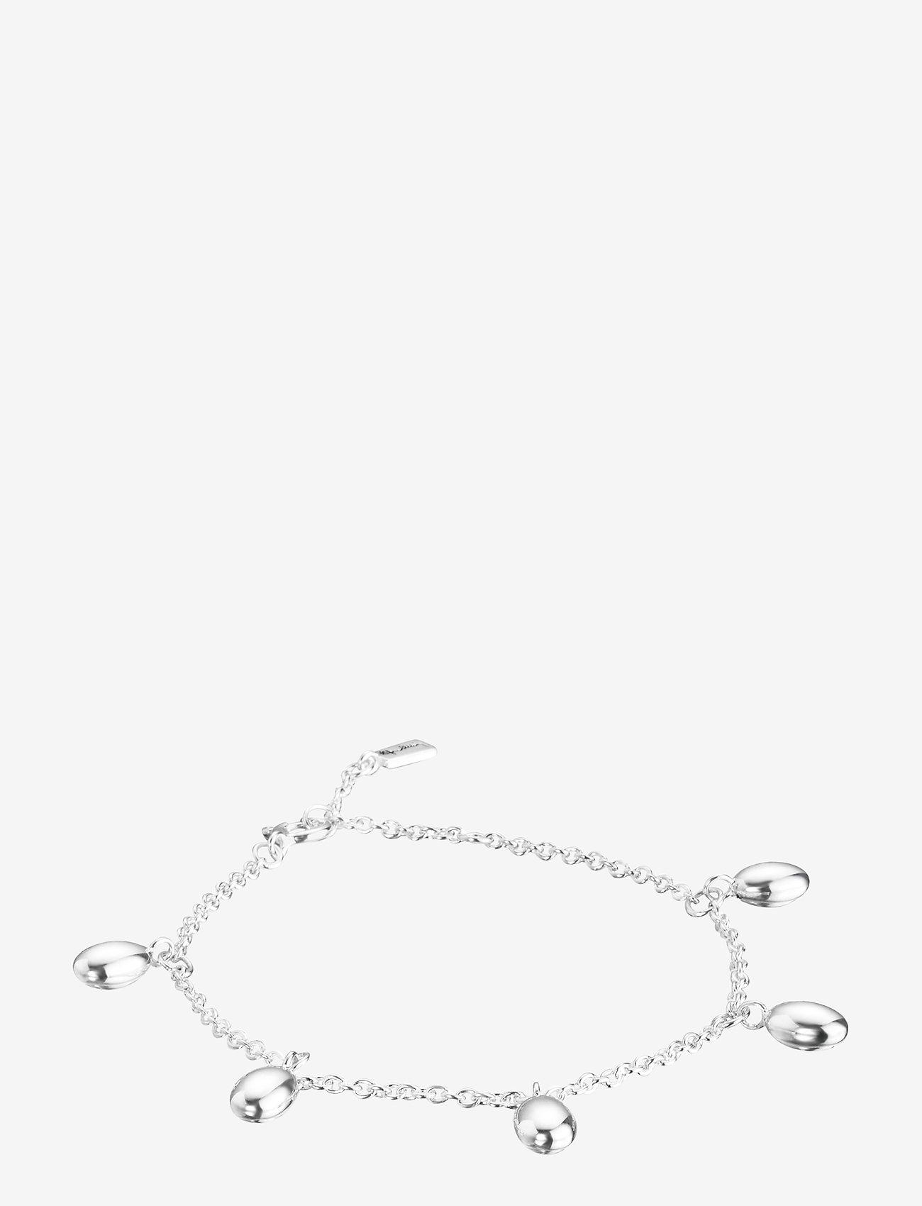 Efva Attling - Love beads plain bracelet - dainty - silver - 0