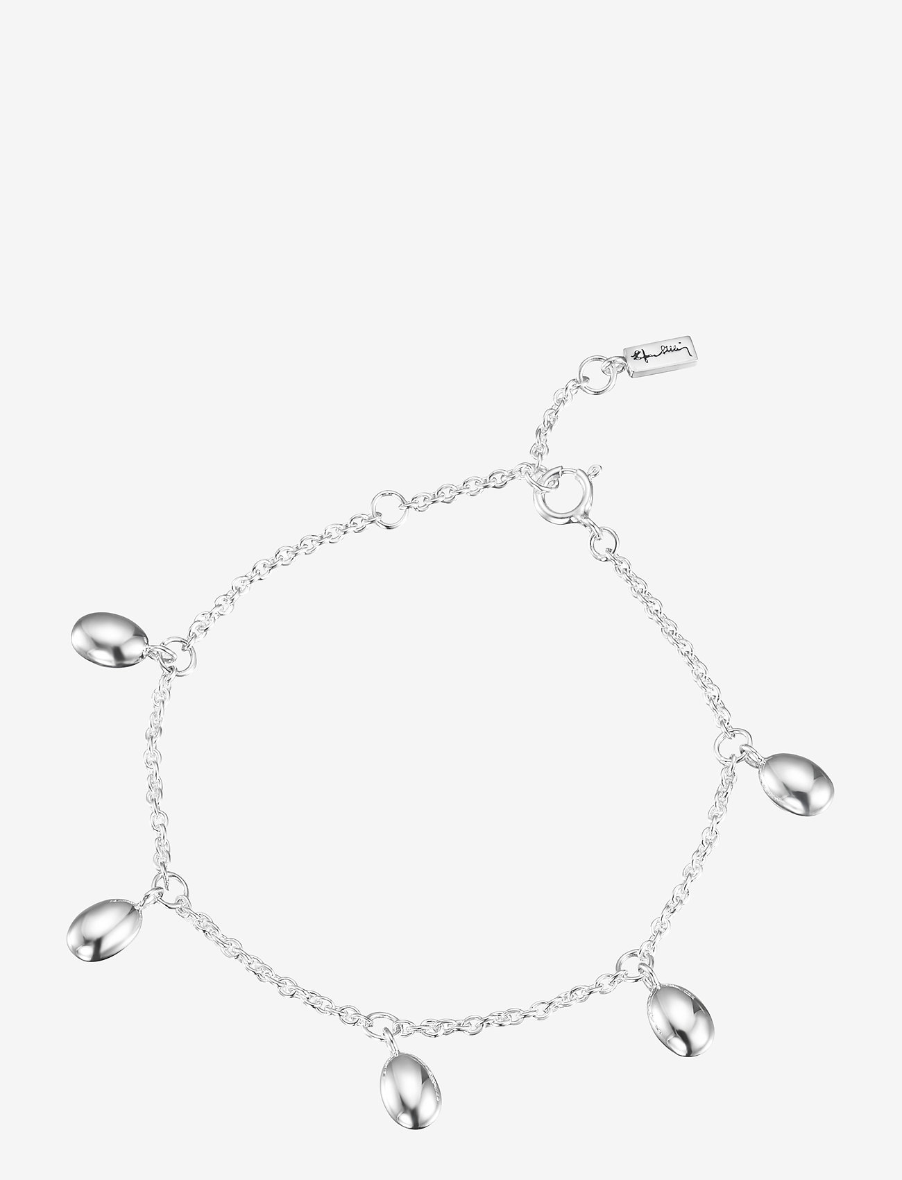 Efva Attling - Love beads plain bracelet - dainty - silver - 1