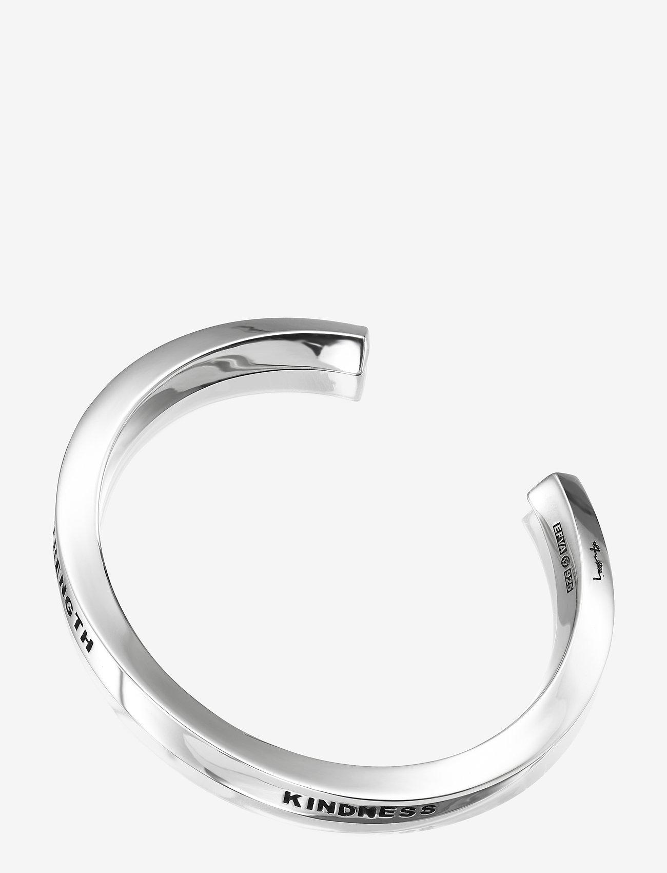 Efva Attling - Strength & Kindness Cuff - bangles - silver - 0