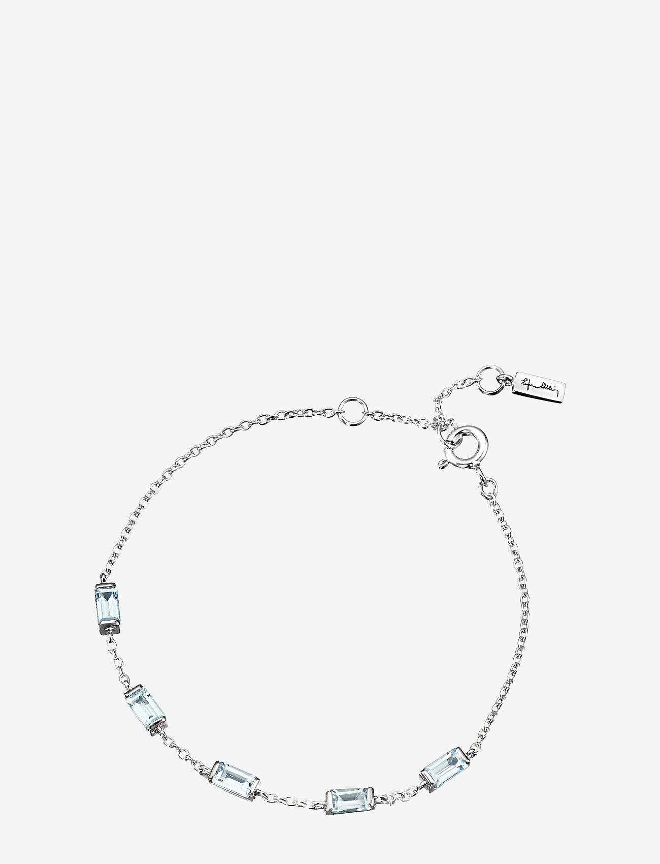 Efva Attling - A Macaron Dream Bracelet - dainty - silver - 0