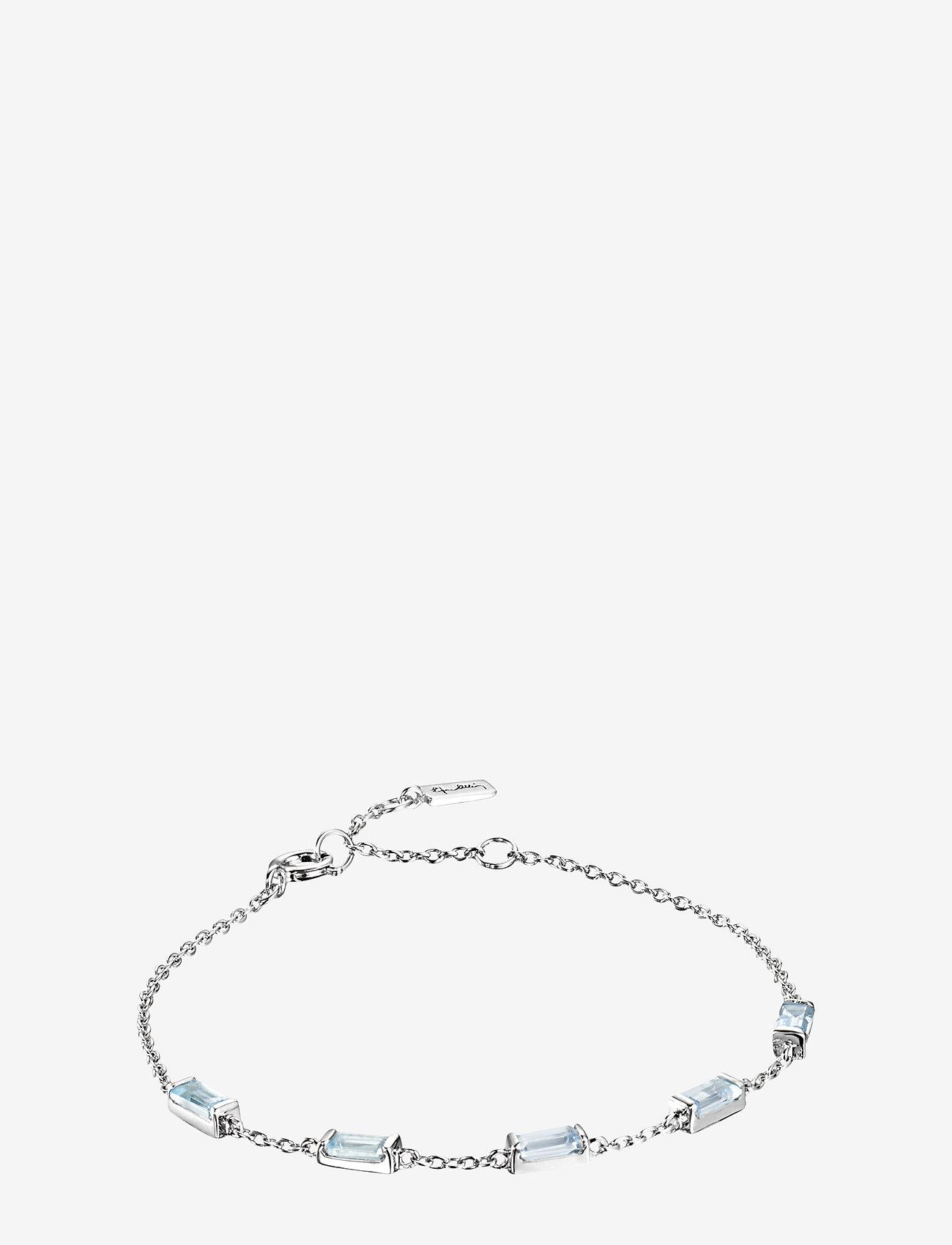 Efva Attling - A Macaron Dream Bracelet - dainty - silver - 1